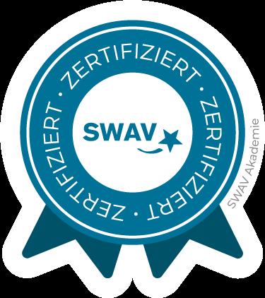 Zertifizierter Fitnesstrainer der SWAV Akademie